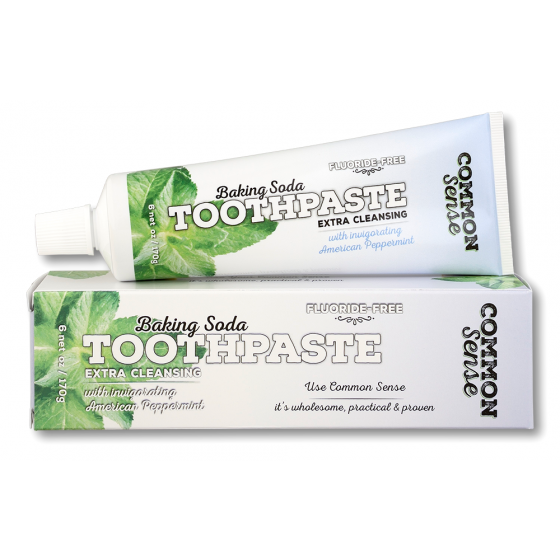 Peppermint Baking Soda Toothpaste - Soap & Bodycare Daily Necessities Toothpaste