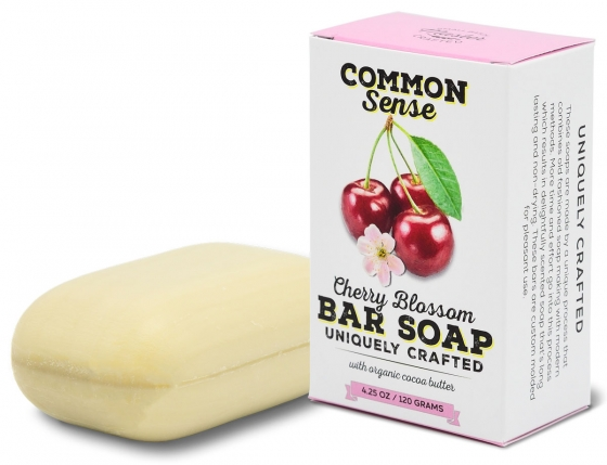 Cherry Blossom Triple Milled Bar - Soap & Bodycare Soaps & Cleansers EXCLUSIVE MILLED SOAPS