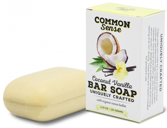 Coconut Vanilla Triple Milled Bar - Soap & Bodycare Soaps & Cleansers EXCLUSIVE MILLED SOAPS