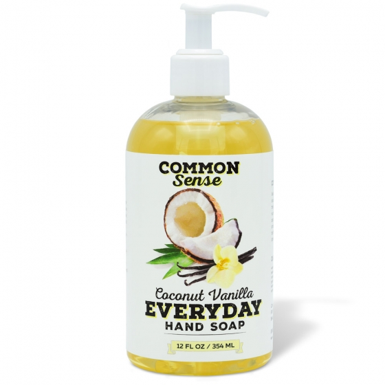 Everyday Coconut Vanilla Hand Soap - Soap & Bodycare Soaps & Cleansers Everyday Hand Soap
