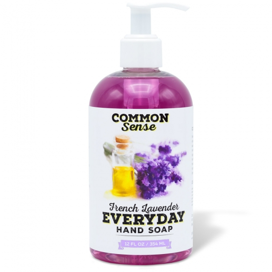 Everyday French Lavender Hand Soap - Soap & Bodycare Soaps & Cleansers Everyday Hand Soap