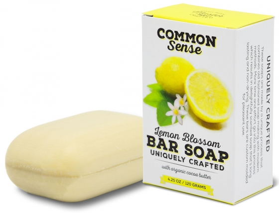 Lemon Blossom Triple Milled Bar - Soap & Bodycare Soaps & Cleansers EXCLUSIVE MILLED SOAPS