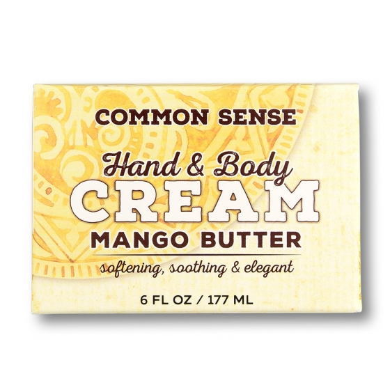 Mango Butter Hand & Body Cream-6 fl. oz - Soap & Bodycare Moisturizers Body Creams