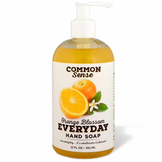 Everyday Orange Blossom Hand Soap - Soap & Bodycare Soaps & Cleansers Everyday Hand Soap