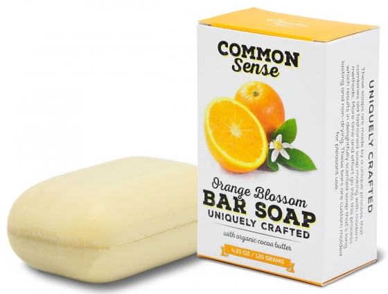 Orange Blossom Triple Milled Bar - Soap & Bodycare Soaps & Cleansers EXCLUSIVE MILLED SOAPS
