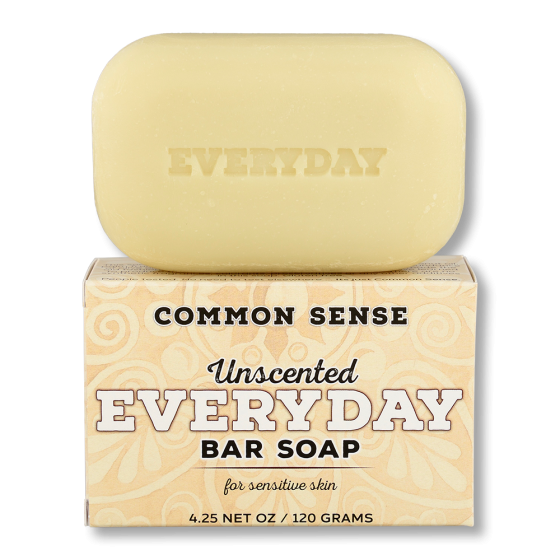 Everyday Unscented Bar Soap - Soap & Bodycare Soaps & Cleansers Everyday Bar Soap Daily Necessities Everyday Bar Soap