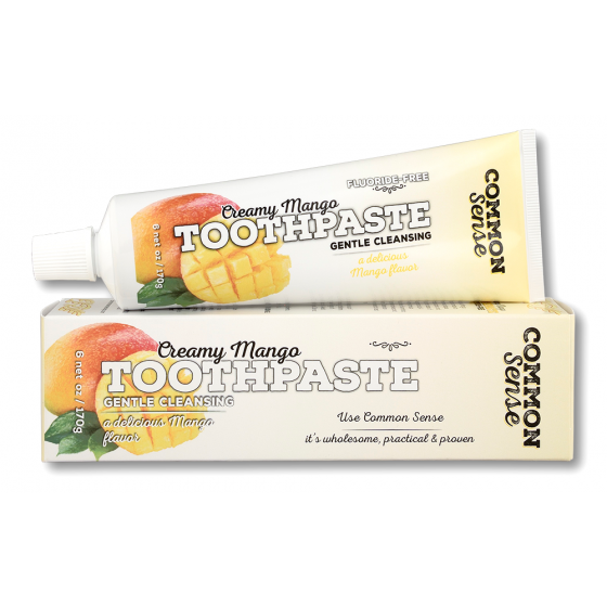Creamy Mango Toothpaste - Soap & Bodycare Daily Necessities Toothpaste