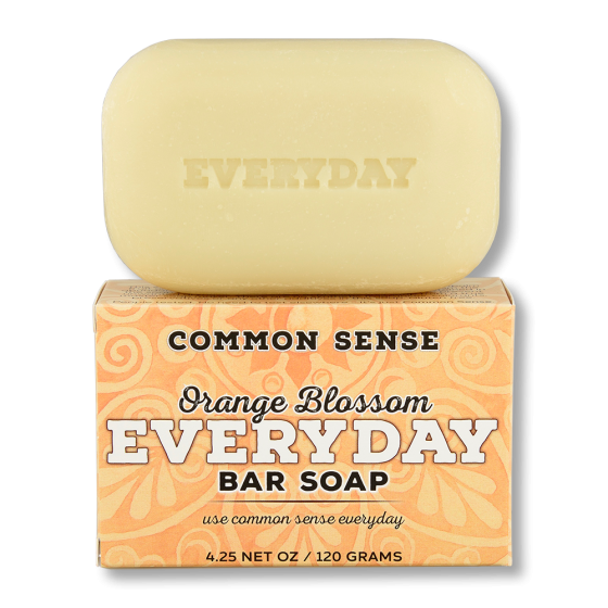 Everyday Orange Blossom Bar Soap - Soap & Bodycare Soaps & Cleansers Everyday Bar Soap Daily Necessities Everyday Bar Soap