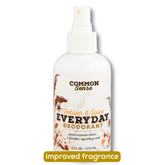 Everyday Vetiver & Spice Deodorant - Soap & Bodycare Daily Necessities Everyday Deodorant